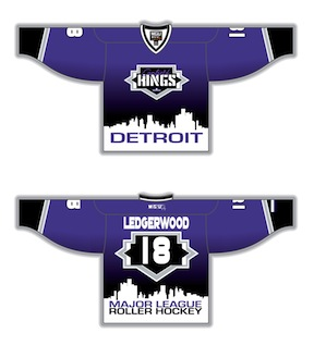 47dd66490 purple, black, white, Detroit skyline. Fully Custom Sublimated Hockey  Jerseys by Magnum